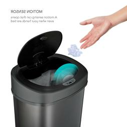 Motion Sensor Trash Can 50 Liter Touchless With Lid Stainles