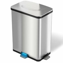 New 3 Step Sensor Automatic Touchless 13 Gallon Trash Can Ho