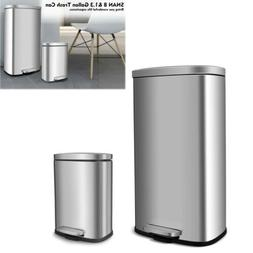 Portable Step On Trash Can Toilet Room Office Kitchen Waste