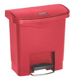 Slim Jim Resin Step-On Container, Front Step Style, 4 gal, R