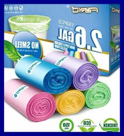 Small Trash Bags,2.6 Gal Garbage Bags Bathroom Can Liners