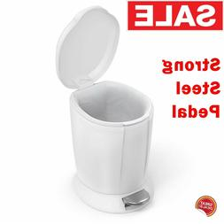 Small Trash Can With Lid Bathroom Bedroom Bin Kitchen Step P