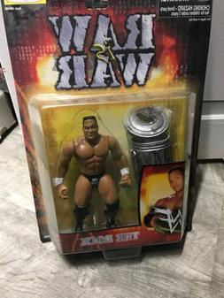 THE ROCK ACTION FIGURE 1999 Raw Is War WWF Wrestling Figure