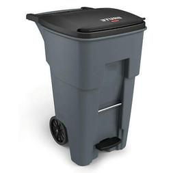 RUBBERMAID COMMERCIAL PRODUCTS 1971968 Trash Can,Free-Standi