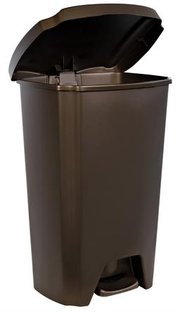 Hefty Trash Can with Step-On Lid 13-Gallon Home Kitchen Gara