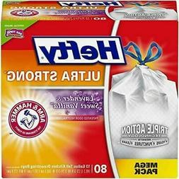 Hefty Ultra Strong Tall Kitchen Trash Bags-Lavender&Sweet Va