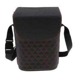 Waterproof Car Trash Can For Litter - Mini Pu Leather Auto G